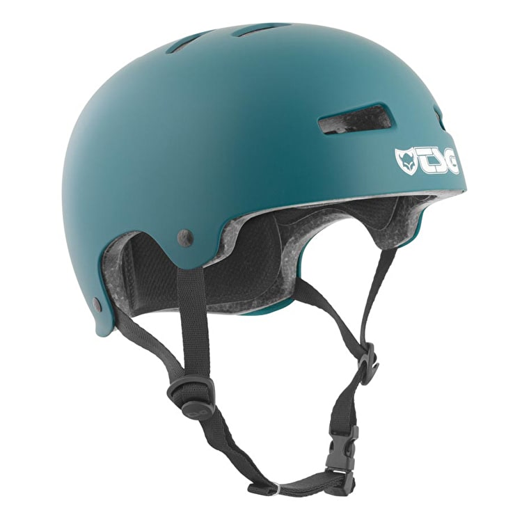 TSG Evolution Helmet - Satin Dark Teal
