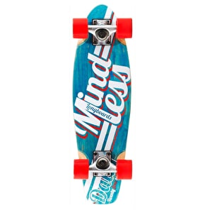 Mindless Daily Stain 24/7 Longboard - Blue/White