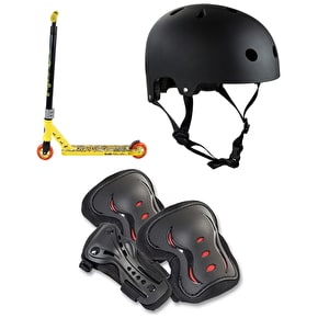 Maui And Sons Aggro Shark Stunt Scooter Bundle
