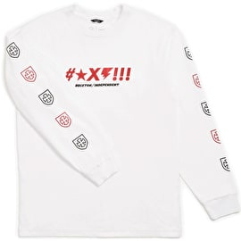 Brixton Shine STT Long Sleeve T Shirt - White
