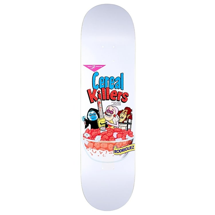 Primitive Rodriguez Cereal Killers Skateboard Deck - 8.0""