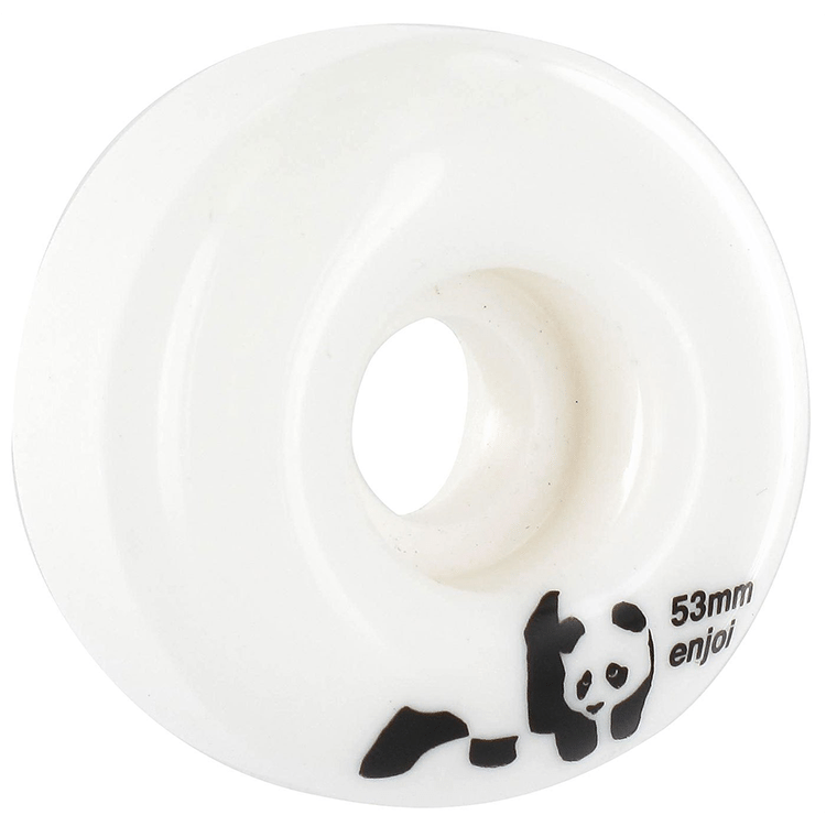 Enjoi Panda Skateboard Wheels - Whitey 53mm