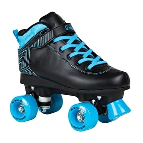 Rookie Starlight Quad Roller Skates - Black/Blue