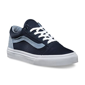 Vans Old Skool Kids' Shoes - (T&C) Dress Blues/Captain's Blue