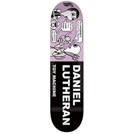 Toy Machine Lutheran Tract Pro Skateboard Deck - 8
