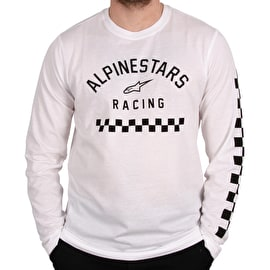 Alpinestars Runner Long Sleeve Knit - White
