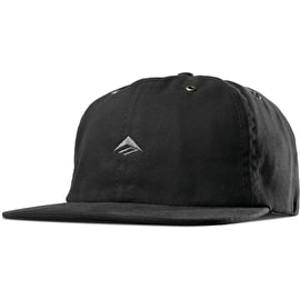 Emerica Try Snapback Cap - Black