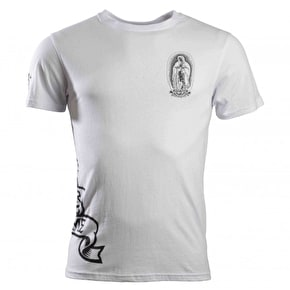 Santa Cruz Praying Symbols T-Shirt - White
