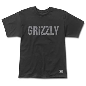 Grizzly Headlines T-Shirt - Black