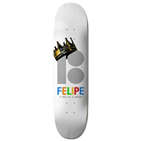 Plan B Felipe Royalty BLK ICE Skateboard Deck - 8.25