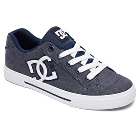 DC Chelsea TX SE Womens Skate Shoes - Chambray