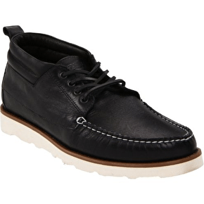 WeSC Designer Gilliam Shoes - Black Leather