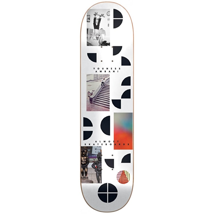 Almost Fragments - Youness Amrani Skateboard Deck 8.375""
