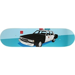 Chocolate x HUF Skateboard Deck - LAPD 8