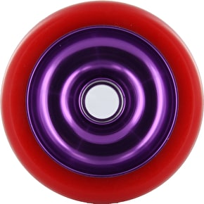 Eagle Purple core Red Pu Metal Core wheel - 110mm
