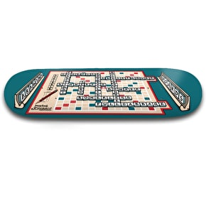 Drawing Boards Skateboard Deck - Board Games Scribble 8