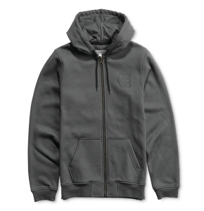 Etnies Icon Zip Hoodie - Dark Grey