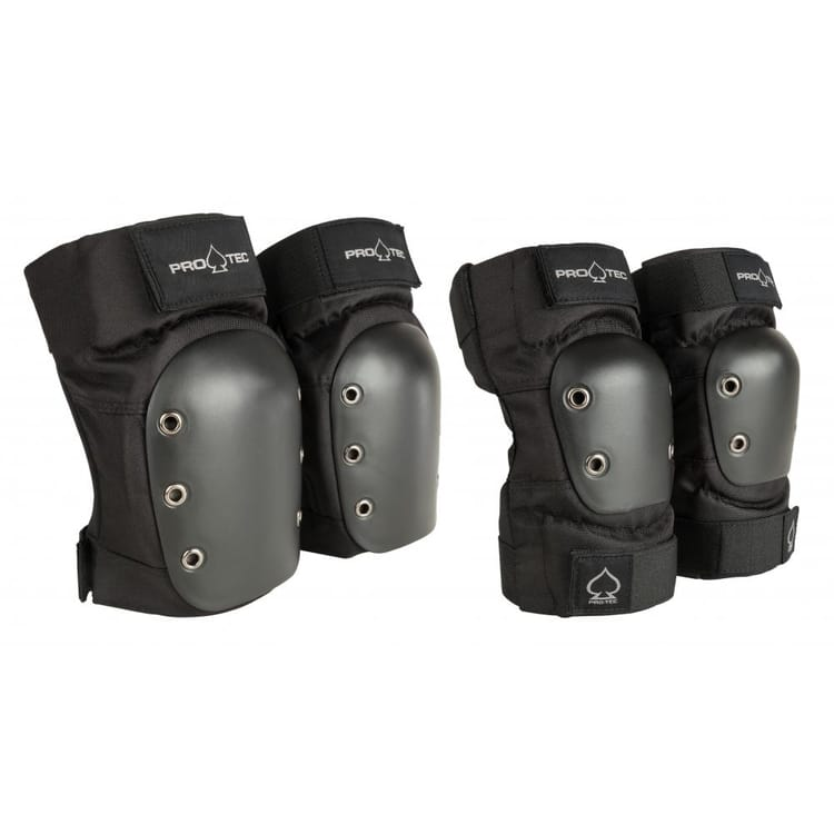 Pro-Tec Street Knee and Elbow Combo Pad Set