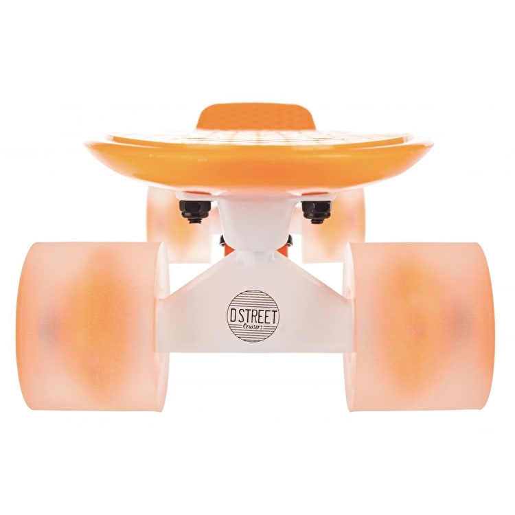 D Street Polyprop Neon Flash Cruiser - Orange 23""