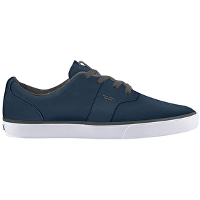 Fallen Cheif XI Skate Shoes - Midnight Blue/Cement Grey