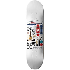 Plan B Essentials Skateboard Deck - Way 8.25
