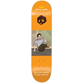 Enjoi Skateboard Deck - Flashback Carlin 7.75