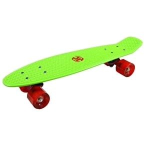 Madd Krunk Retro 81 Skateboard - Green / Red