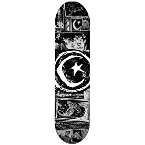 Foundation Star & Moon Zine Team Skateboard Deck - 8.5