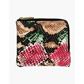 Mi-Pac Coin Holder - Rattlesnake Green/Pink