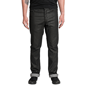 Kr3w K Slim Denim Jeans - Coated Carbon