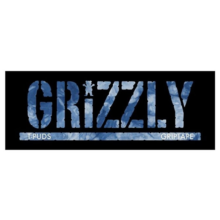 Grizzly T-Puds Stamp Sticker