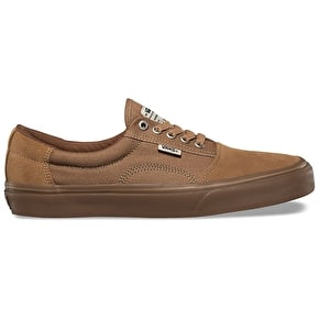 Vans Rowley Solos Skate Shoes - Tobacco/Gum