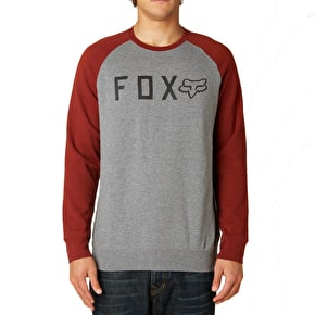 Fox Tresspass Crew Fleece - Heather Graphite