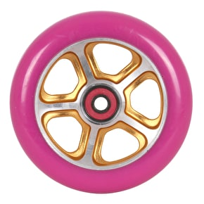 MGP DDAM CFA Scooter Wheel - Gold/Purple 110mm