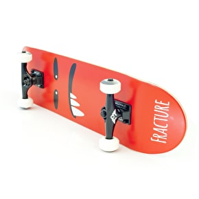 Fracture Skateboard - Lil Monsters V2 Red 7.75
