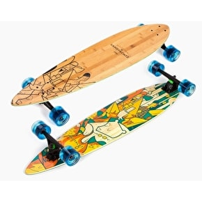 Landyachtz Bamboo Chief Camping Complete Longboard - 36