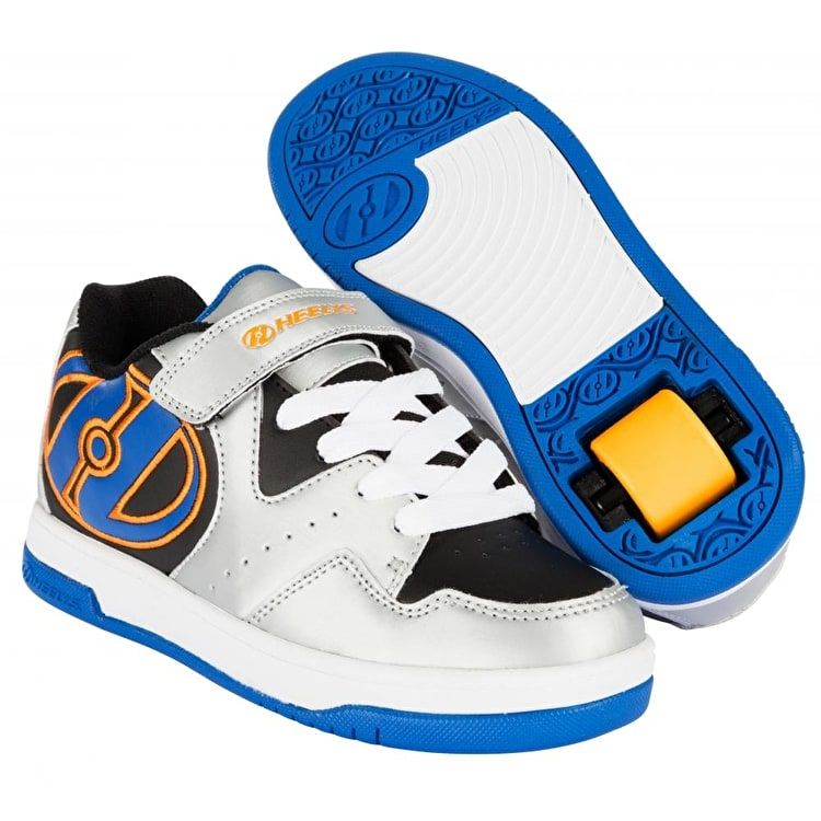 Heelys Hyper - Silver/Black/Royal/Orange