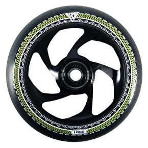 AO Mandala 5 Hole 110mm Scooter Wheel - Black