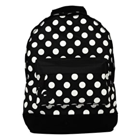 Mi-Pac Mini Backpack - All Polka Black/White