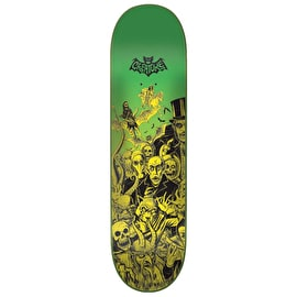 Creature Batty Skateboard Deck - Yellow/Green 8