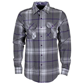 DGK From Nothing Flannel Shirt - Grey