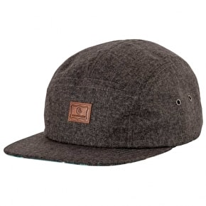 Expedition One Dock 5 Panel Cap - Charcoal