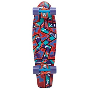 Penny Fresh Prints Nickel Complete Skateboard - Spike 27