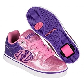 B-Stock Heelys Motion Plus - Purple/Pink Glitter UK 1 (Scuffed)