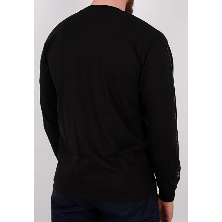 Thrasher Web Logo Long Sleeve T shirt - Black