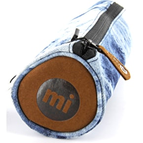 Mi-Pac Pencil Case - Denim Dye Blue