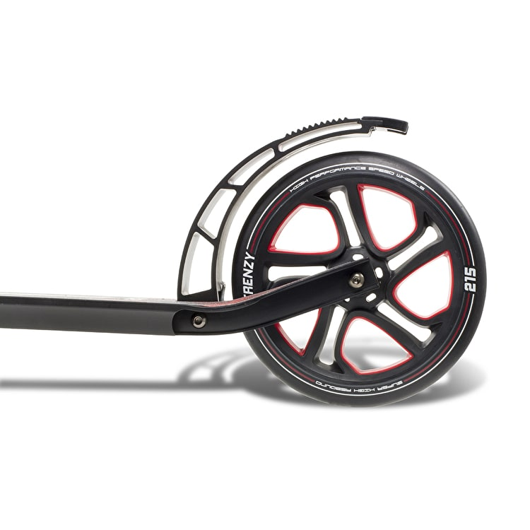 Frenzy 250mm Recreational Complete Commuter Scooter - Red