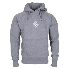 National Skateboard Co Push Thru Hoodie - Heather Grey