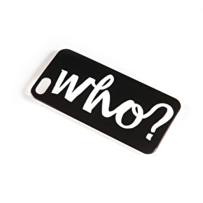 Who? Logo iPhone Case