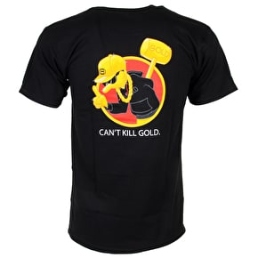 Gold Wheels Gold Squad T-Shirt - Black